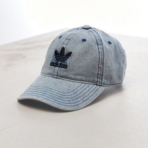 Adidas original denim logo hat cap